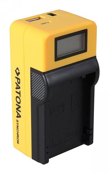Nikon S810c - Micro-USB Akkuladegerät m. LCD Display